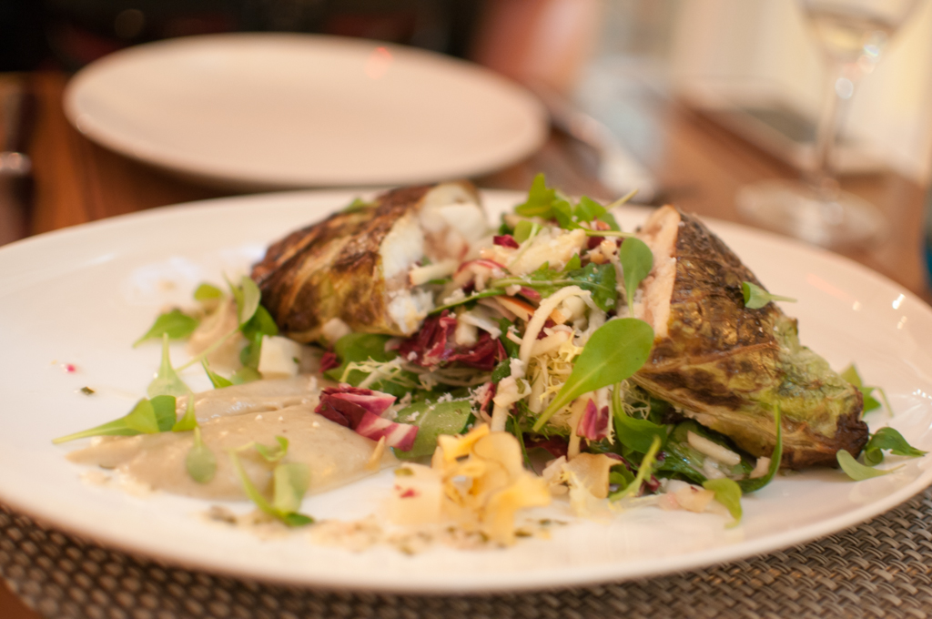 The Chase Fish & Oyster Sea Bream whole fish