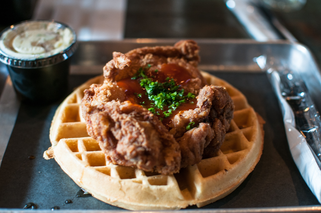 The Dirty Bird Chicken and Waffles ODB