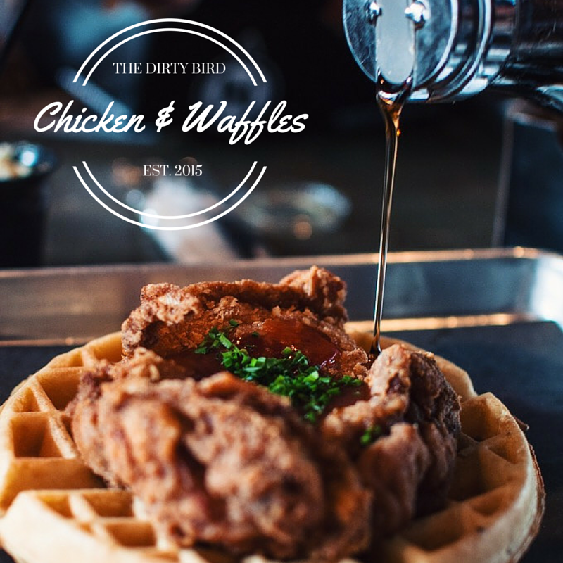 The Dirty Bird Chicken and Waffles
