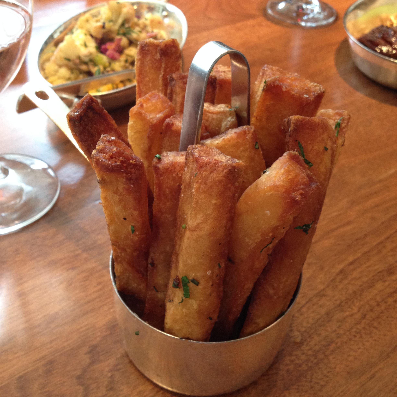 Hand Cut Triple Fries