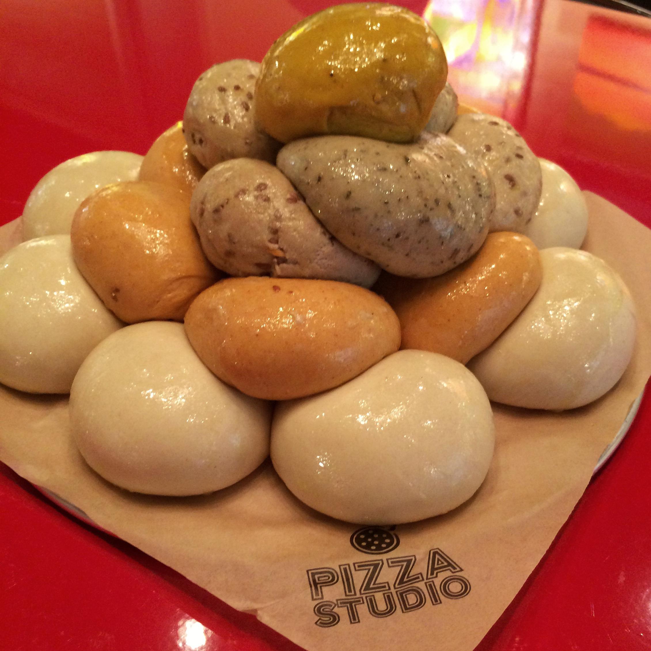Proprietary Dough at Pizza Studio