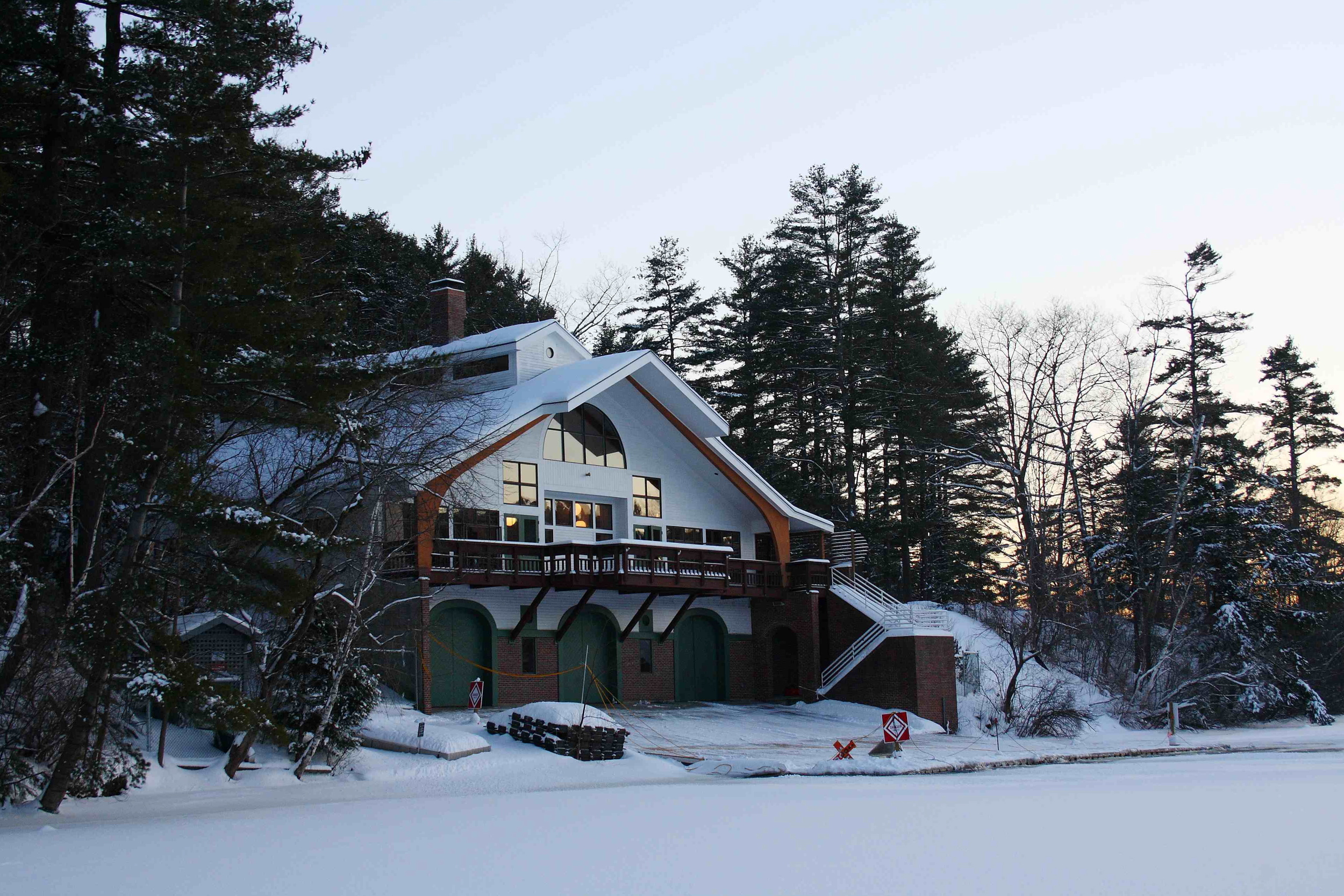 Dartmouth Boathouse (our home away from home)