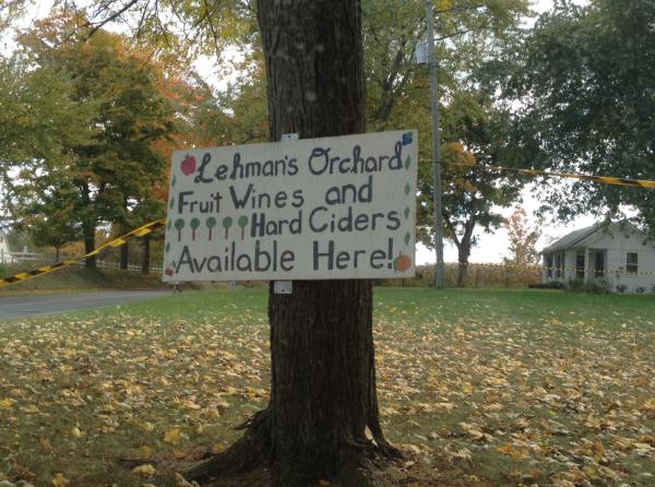 Local fruit-picking gem -  Lehman's Orchard !