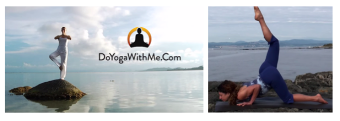 """I typically do yoga once a week but this week had the chance to do more and really find my """"zen"""" place! My favorite source of routines is  Fiji McAlpine ."""