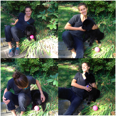 Photo shoot with my little fluffball! Just a typical interaction between us ;-P