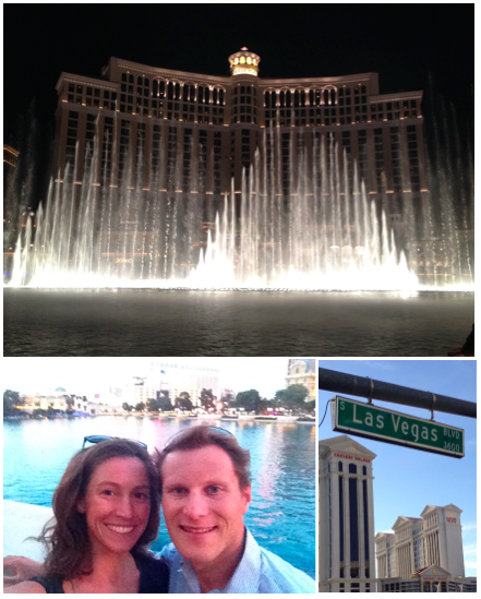 Scenes from last year's trip to the strip! Hopefully we have time (and energy!) to go again this year.