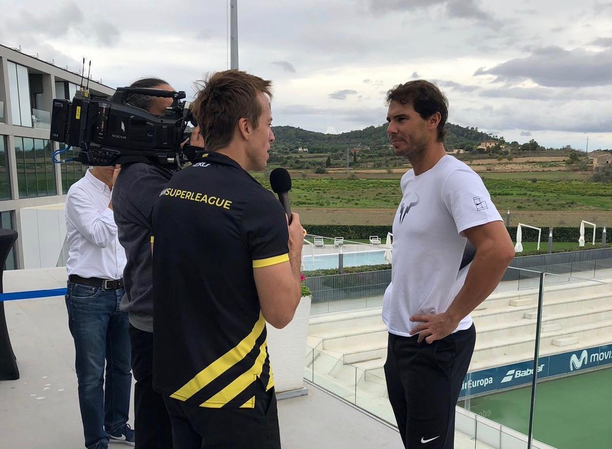 Rafa Nadal, up close & personal