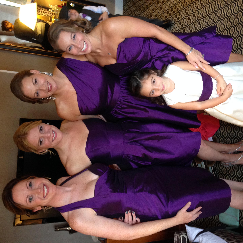 Her bridesmaids <3