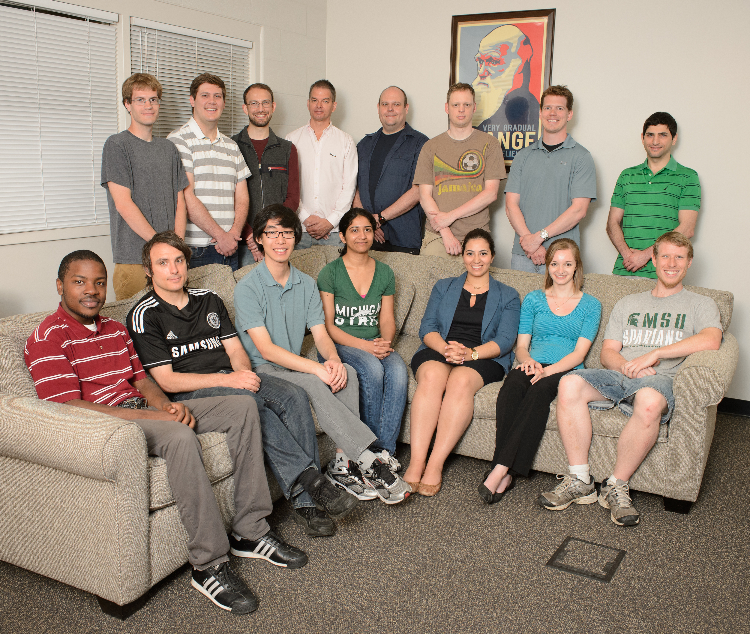 The Adami Lab group.