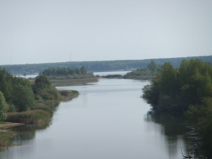 View from the I.D. Papanin Institute for Biology and Inland Waters, Russian Academy of Sciences, Borok, Yaroslavl, Russia