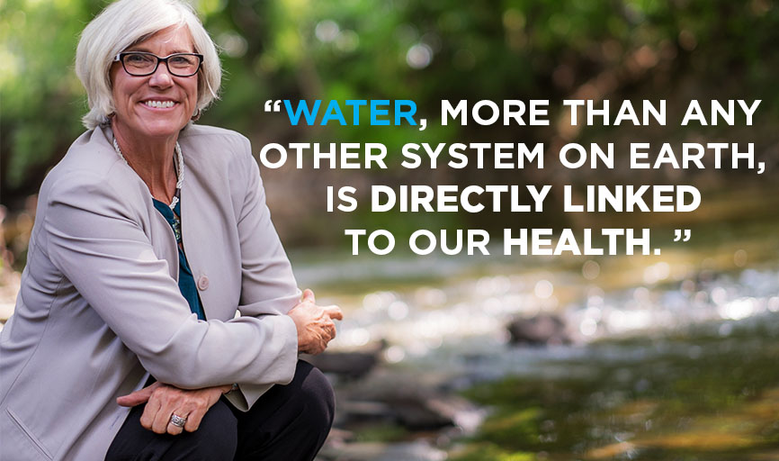 Joan B. Rose, Michigan State University Homer Nowlin Chair in Water Research;Co-Director, Center for Water Sciences andCenter for Advancing Microbial Risk Assessment.
