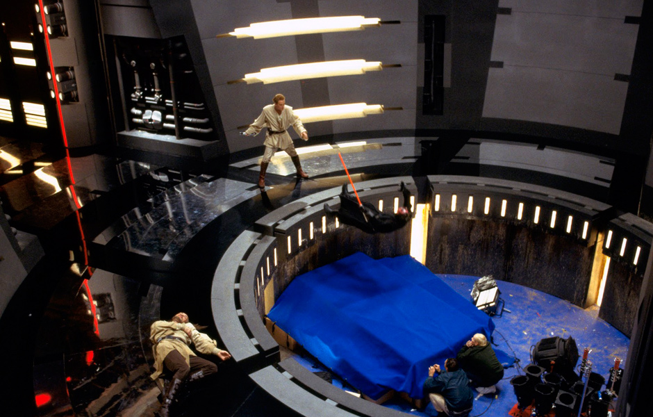 Making the first Star Wars movie of the new trilogy.