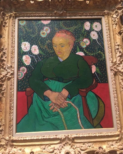 Van Gogh: La Berceuse, 1889