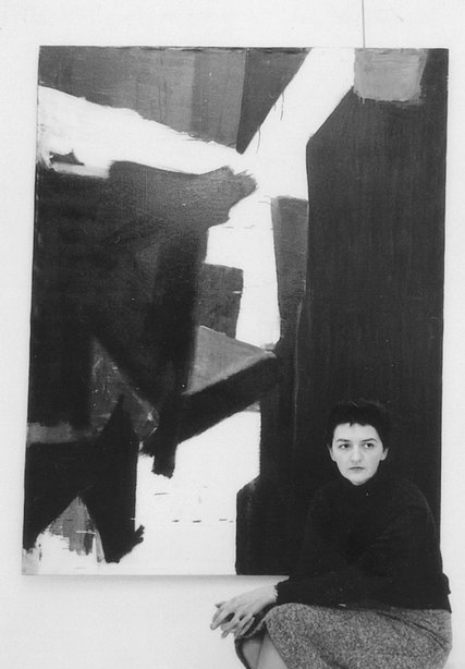 "Judith Godwin in 1959: ""I had so many guys tell me in the '50s that women just could not paint.""  CreditCourtesy of the artist"