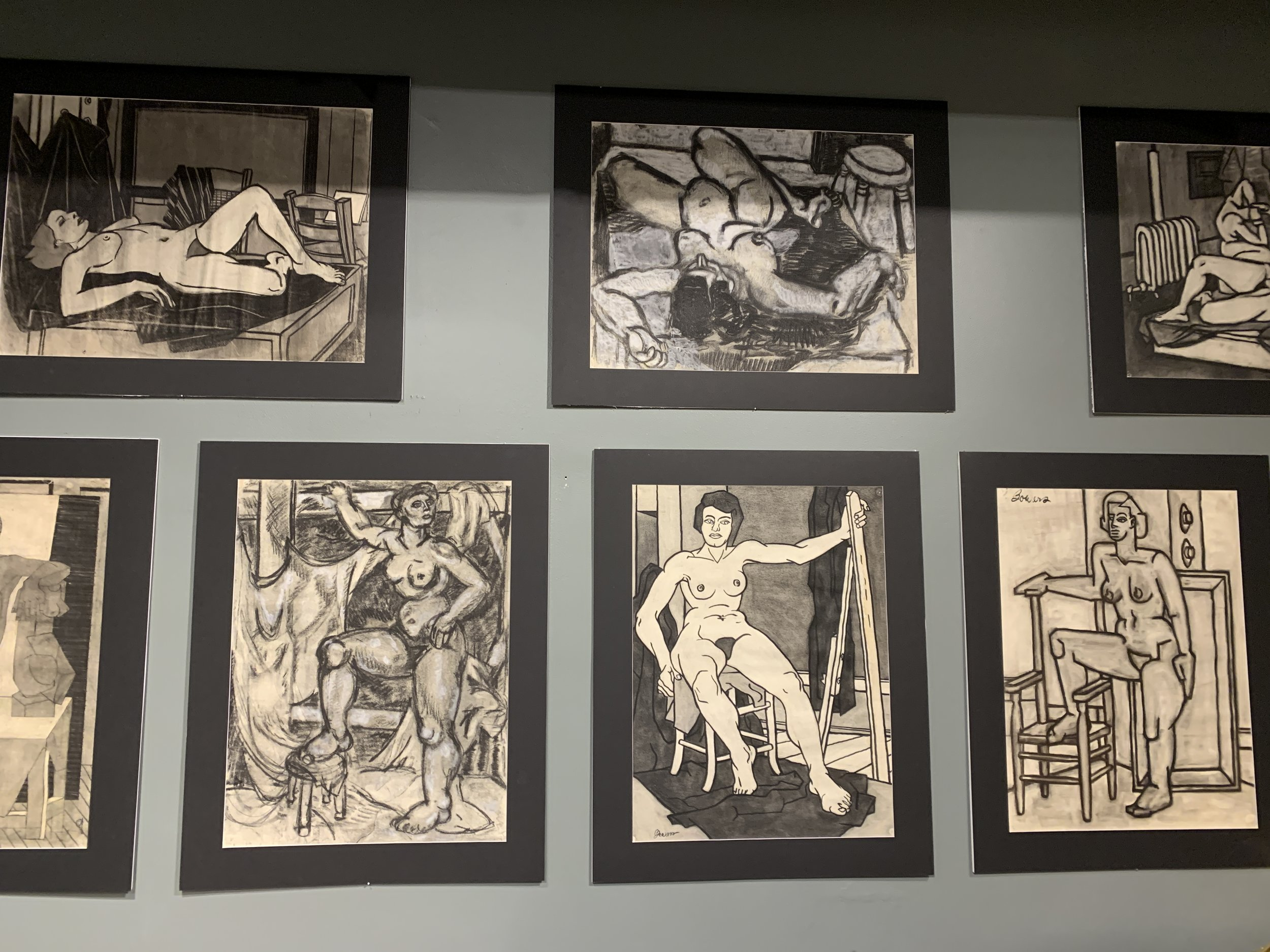 John Bowers - This collection of 1930-40s nudes came from a portfolio by artist John Bowers. John Bowers studied art at UC Berkeley under Margaret Peterson. His personal collection included works by Margaret Peterson, Jay De Feo and Roland Petersen.Now on view at the showroom of Guy Regal NYC at theNew York Design Center, 200 Lexington Ave, NY