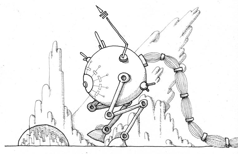 Say hello to Stompy Bot!