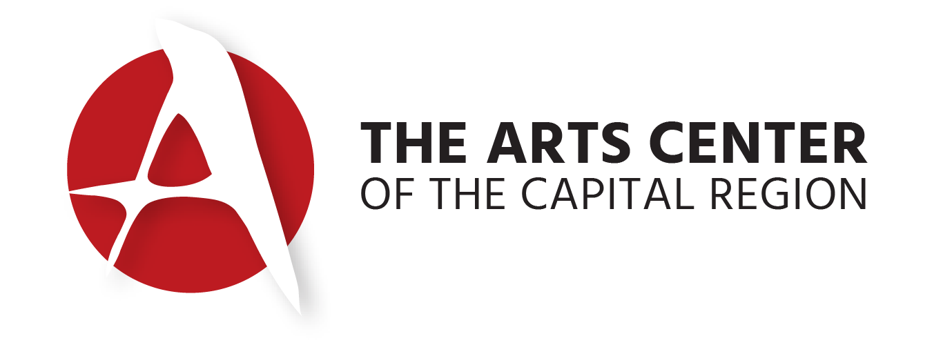 Arts Center Logo - Red - Left Justified.png