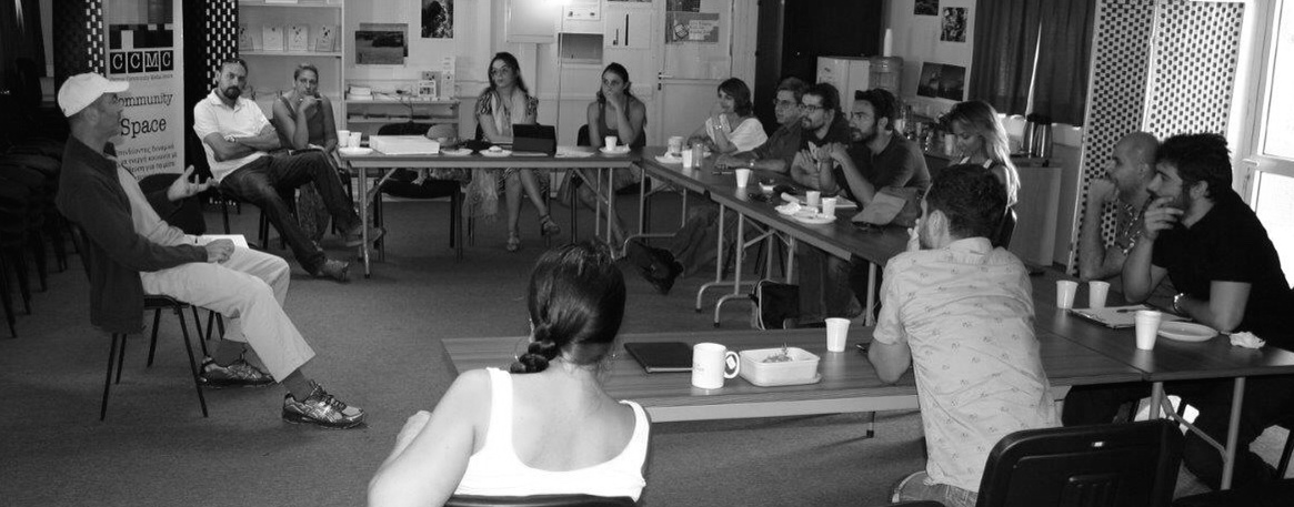 """The US Embassy in Cyprusinvited me to speak in the conflicted island's """"neutral zone"""" (separating Greek Cypriots and Turks) to aspiring filmmakers from both sides, bringing the artists among them together...which was inspiring and cool."""