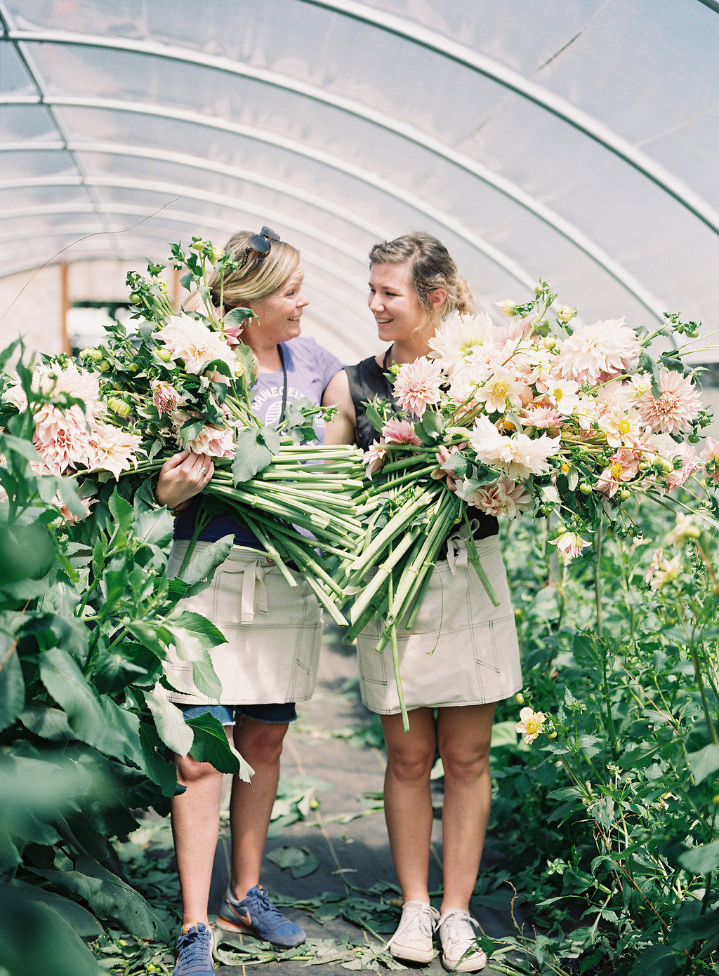 The Elevated Wildflower Meadow-Inspired Workshop and Dinner with Floret Flowers, Part One