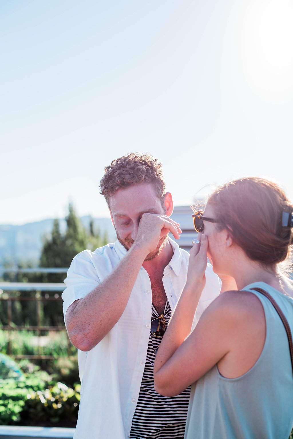 A real Surprise Proposal, now on Cottage Hill
