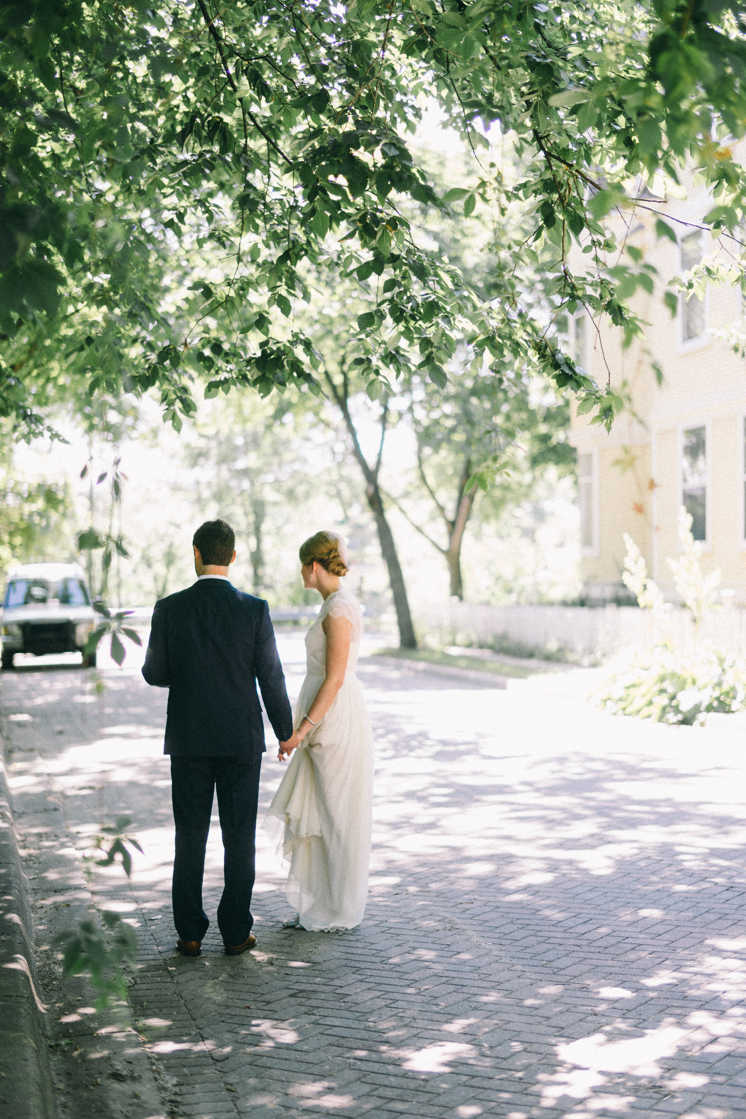 First look with JCrew bride, now on Cottage Hill