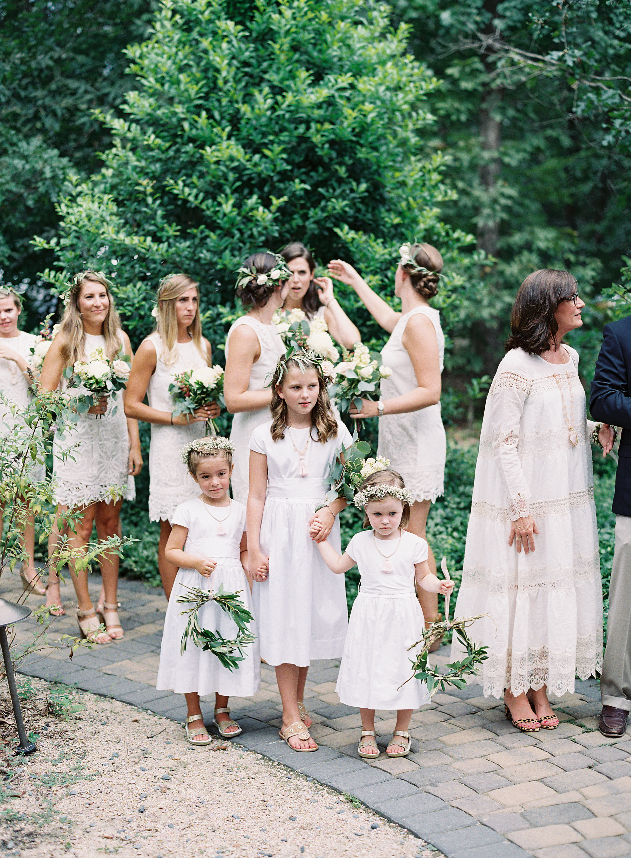 Patterson and Graham's Joyful and Enchanting Outdoor Southern Wedding at Morning Glory Farms now on Cottage Hill
