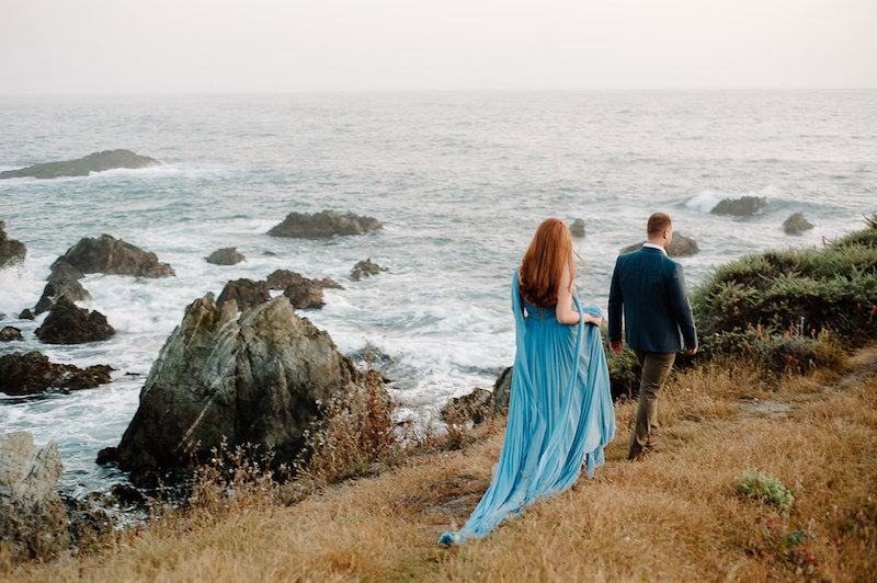 How to Create a Romantic Engagement Session that feels Authentic and Timeless, featuring real Couple Reagan and Maxwell