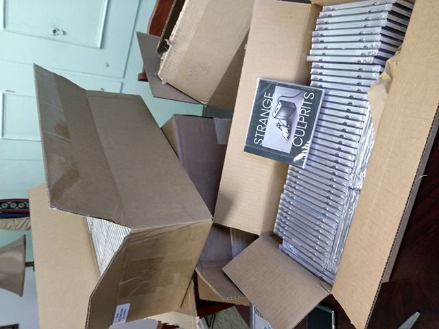 CDs are here for radio promotion and upcoming shows!!