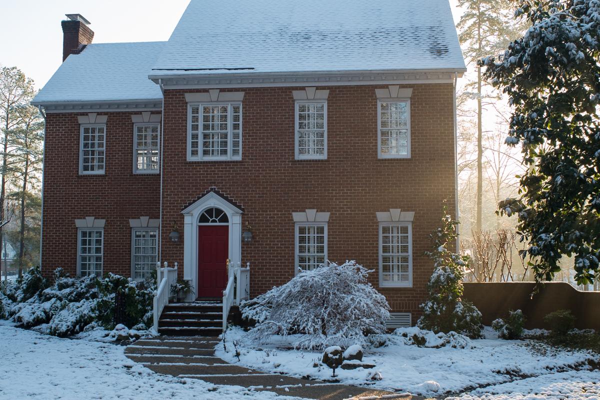 Sunlit and Snowbound