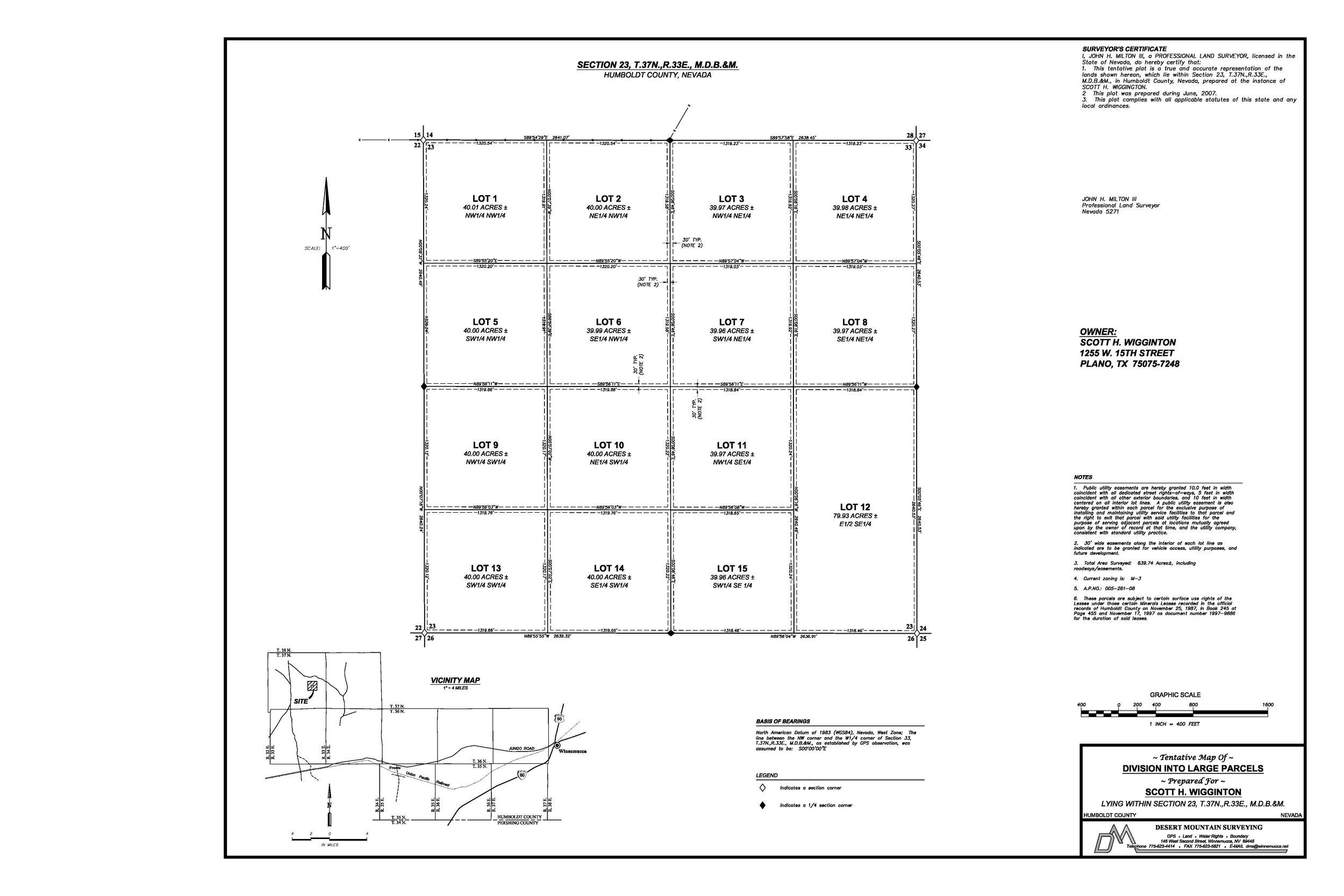Cheap Rural Land 37N_33E_S23_Section_Survey.jpg