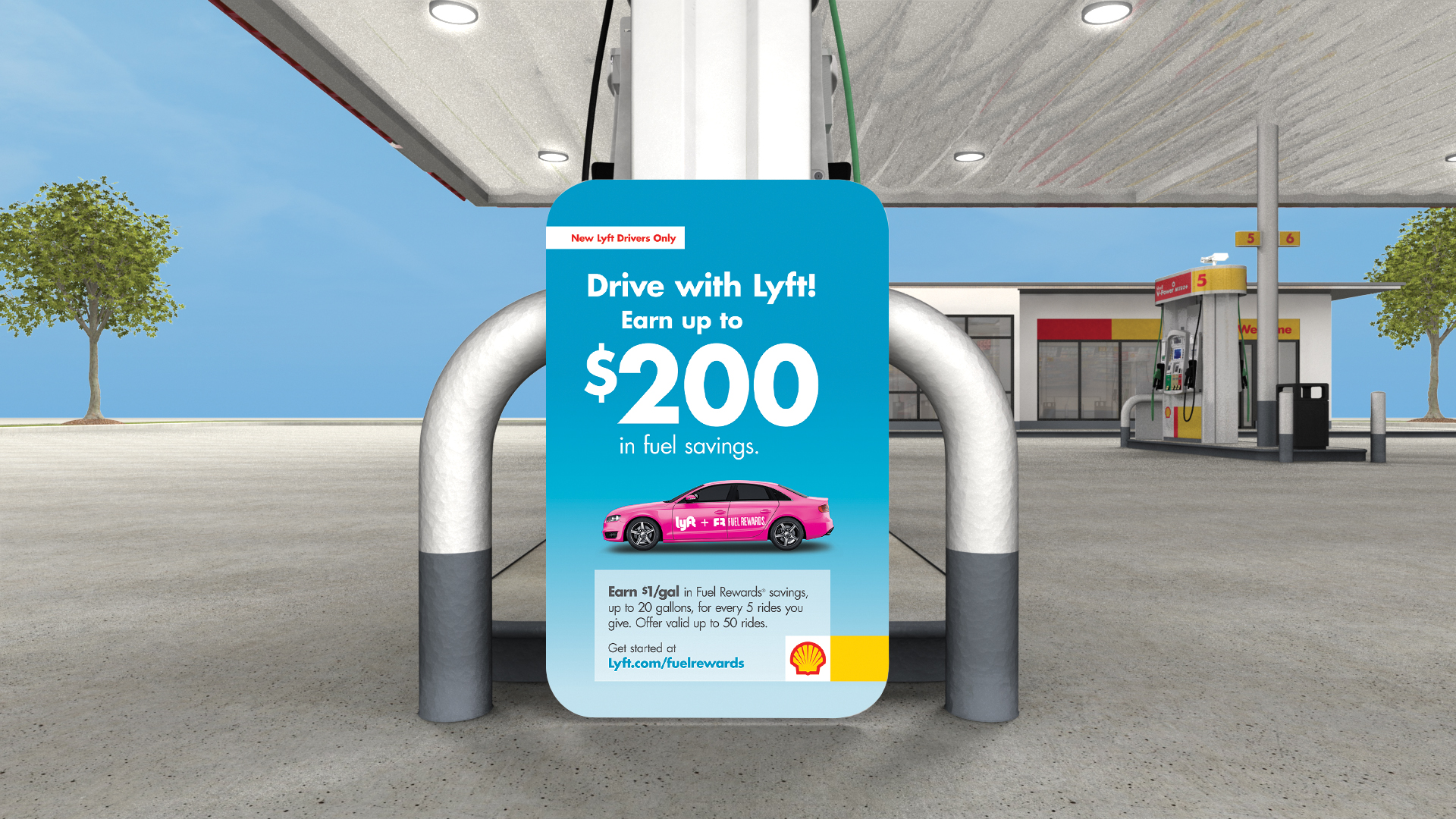 Lyft Launches Fuel Rewards for Drivers at Shell — Lyft Blog