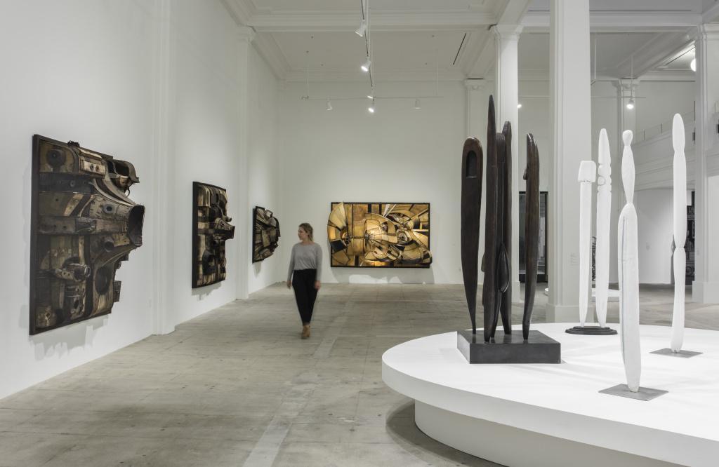The opening exhibit at Hauser, Wirth & Schimmel; Photo Credit: Brian Forrest