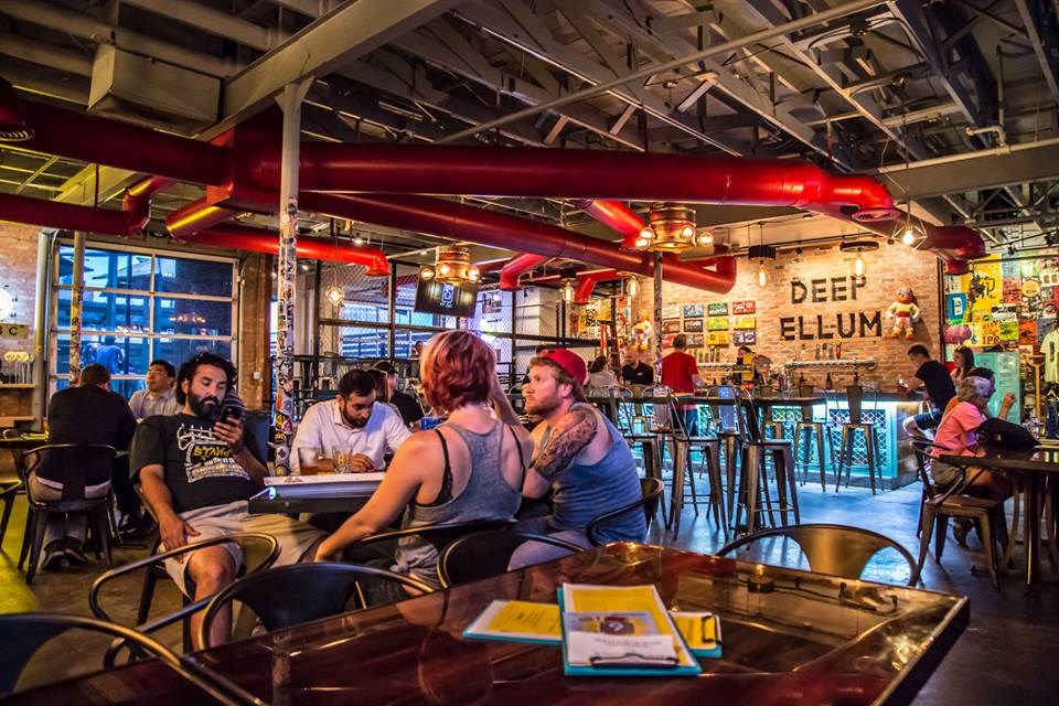 Located in Deep Ellum on St. Louis Street.  (  Photo credit:Deep Ellum Taproom)