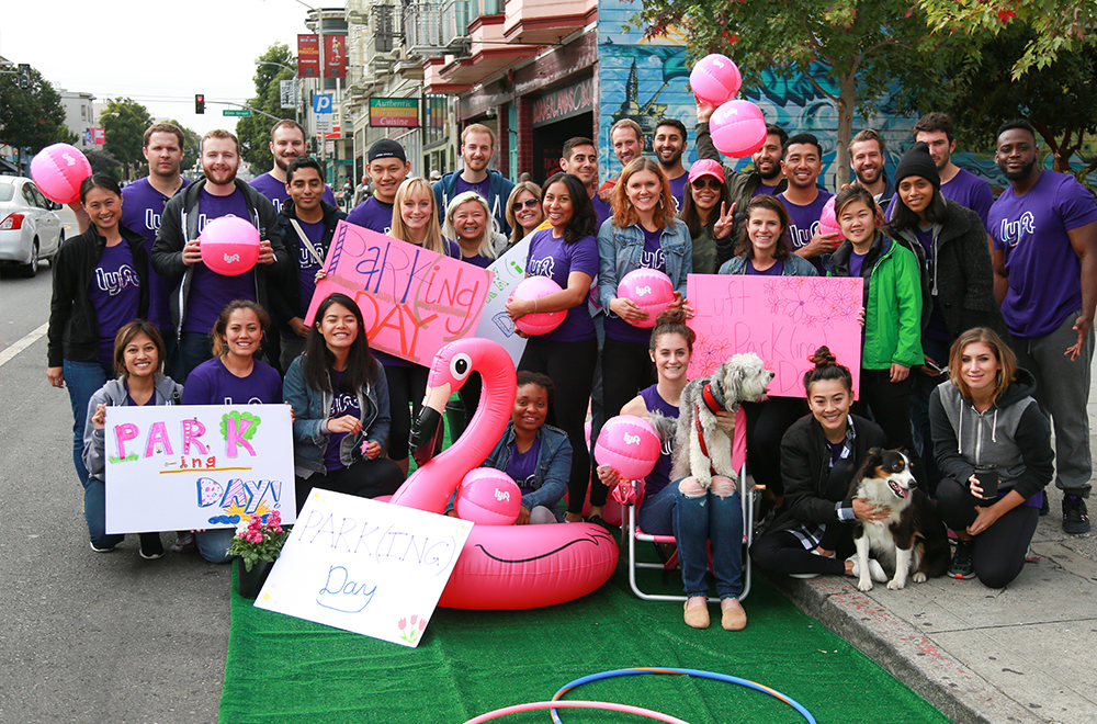 Park(ing) Day 2016 with Lyft