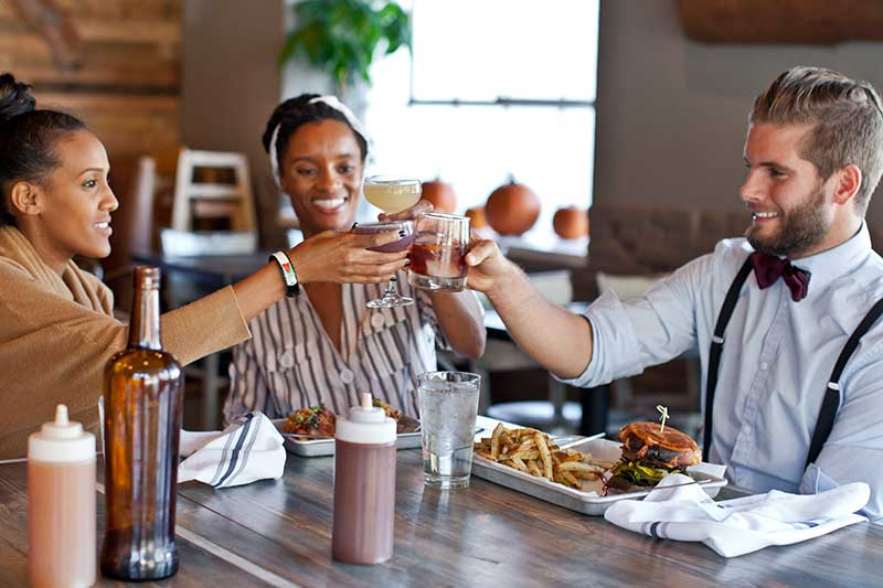 Delicious eats at Sweet Auburn Barbeque