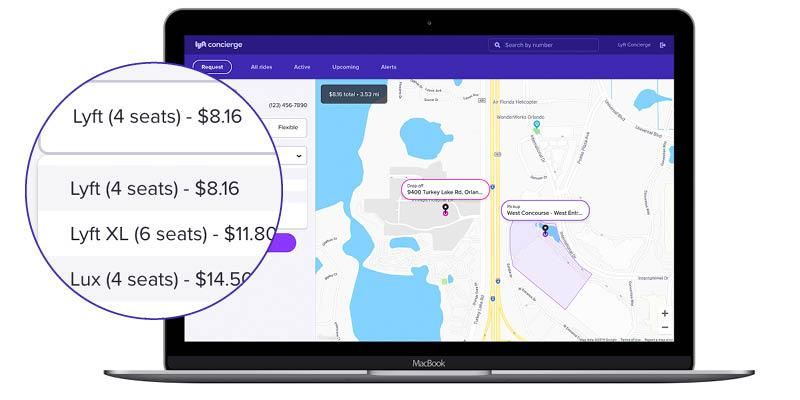 An Upgraded Lyft Concierge Brings Healthcare Needs to the