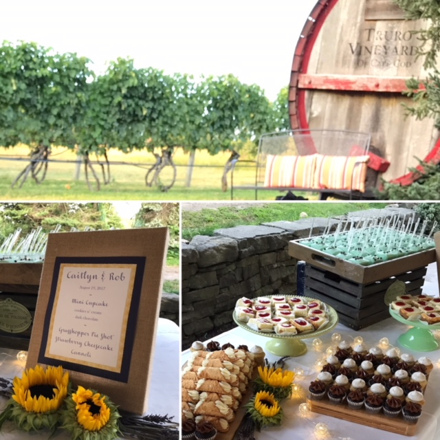Truro Vineyard dessert table.JPG