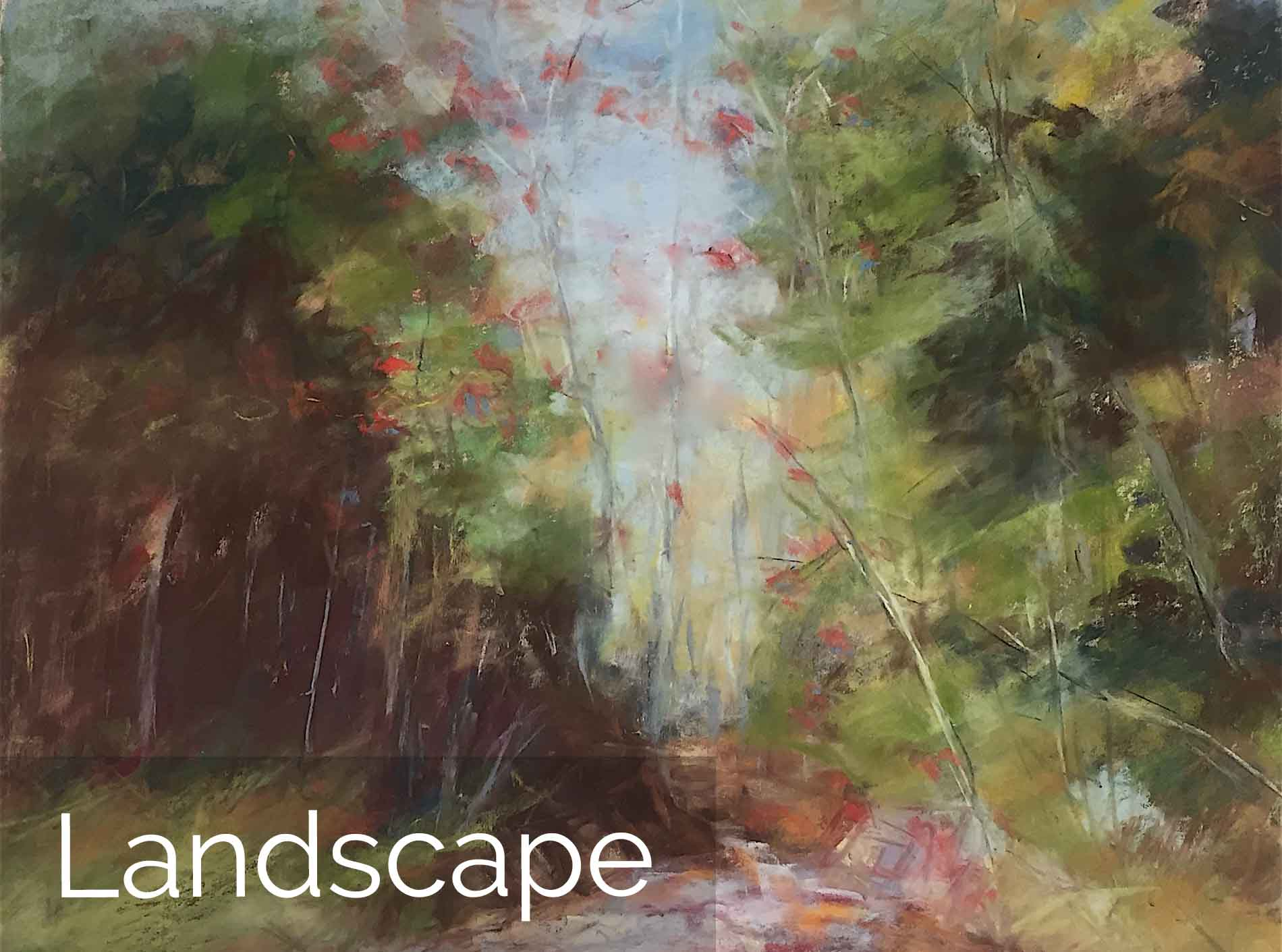 Michèle J. Kenna Landscape Paintings for Sale - Pastel