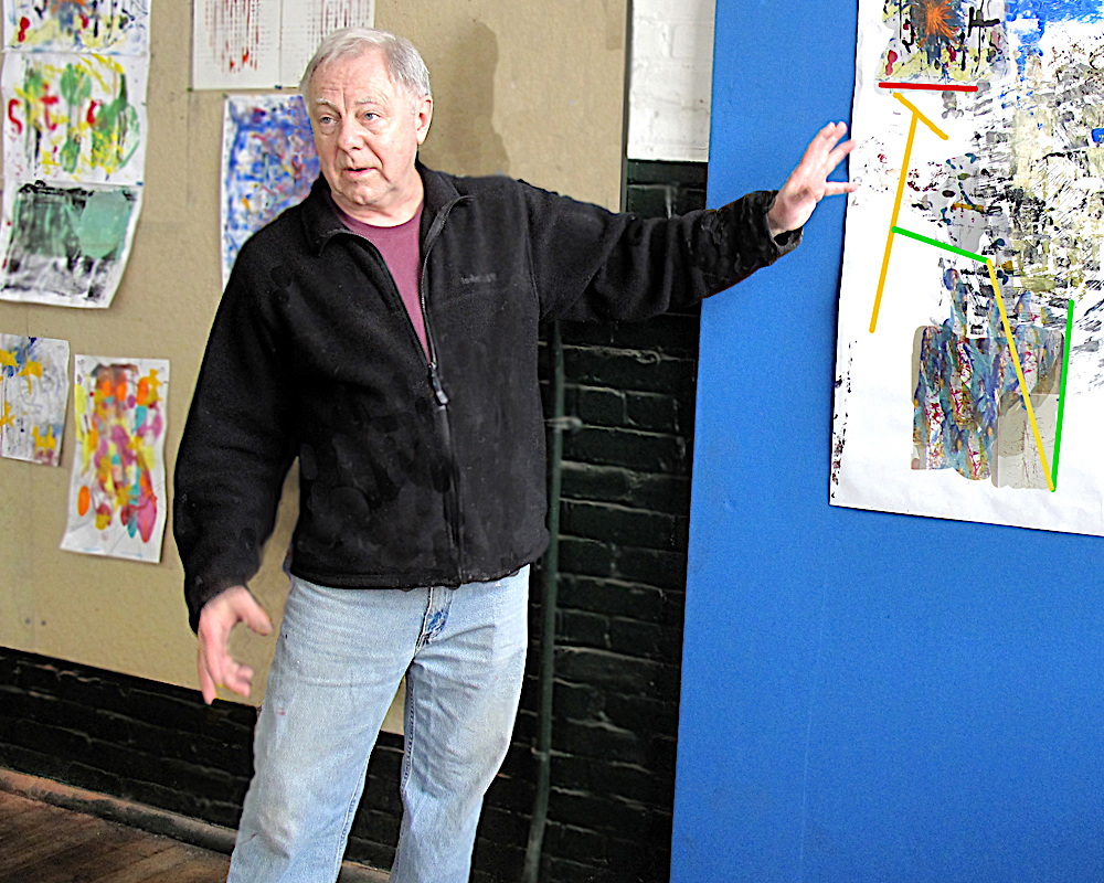 Michèle J. Kenna Events: Art from Intuition Workshop with Dean Nimmer