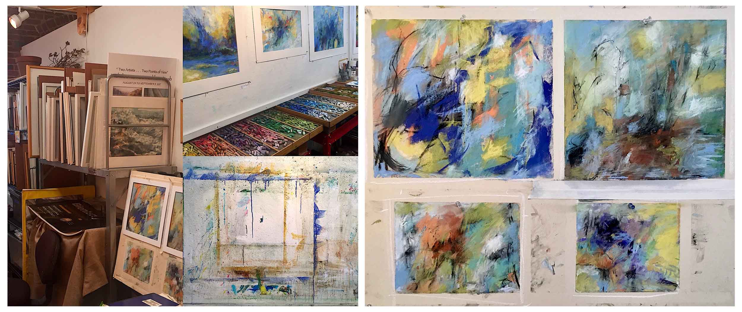 Michèle J. Kenna - Preparing for Abstracts Show