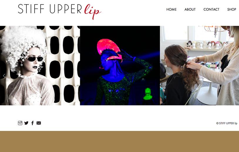 @ STIFF UPPER lip