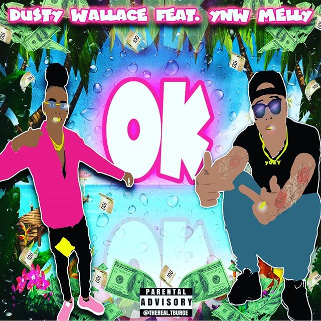 "The wait is over...""Ok"" with @trappherajohn and @ynw.melly prod. by @pmckstudios is dropping soon. We had a great opportunity to work with @whitegadrecords and @dynamo416 and @dsxiii on this project!"