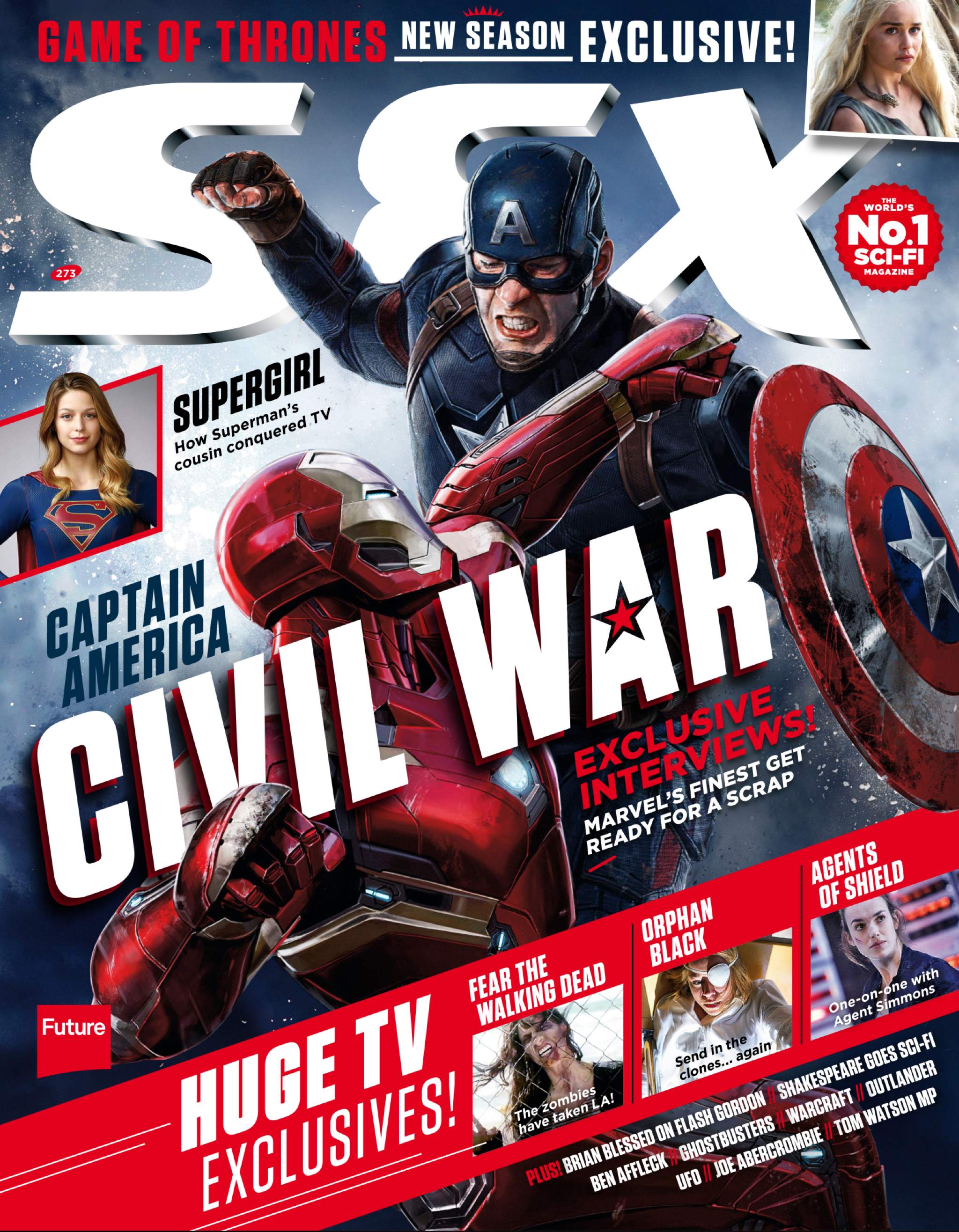 SFX Magazine UK | Cover Page