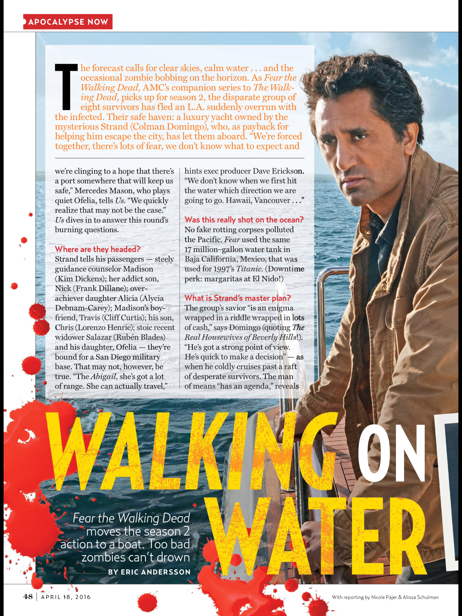US Weekly | FTWD Season 2 | Page 1