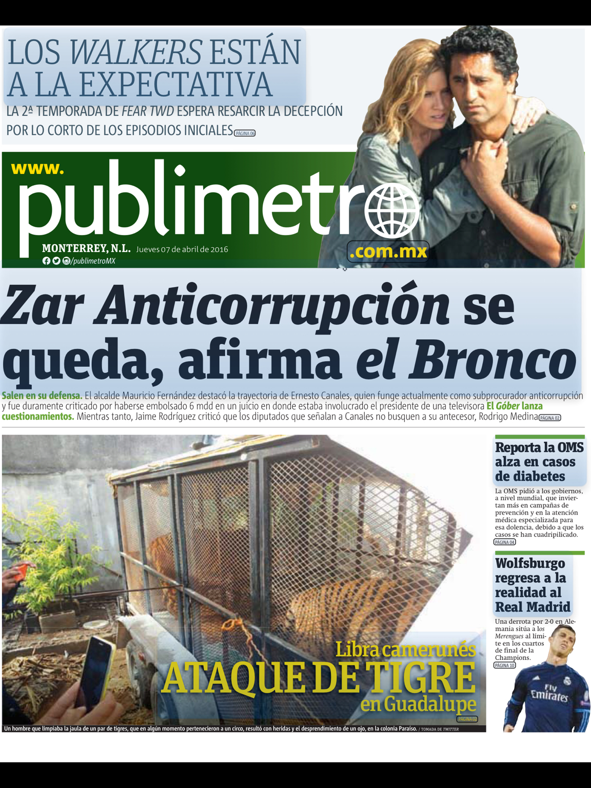Publimetro MX | La Segunda Temporada de Fear The Walking Dead
