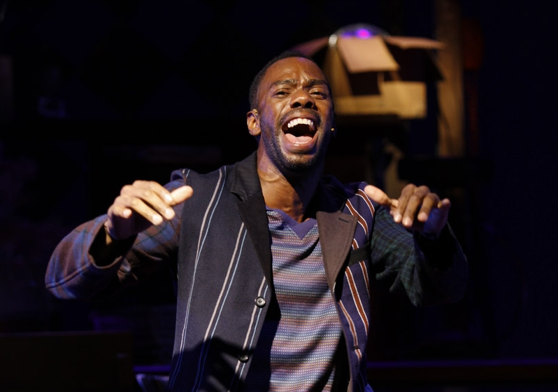 Colman Domingo in the Vineyard Theatre's production of  A Boy and His Soul