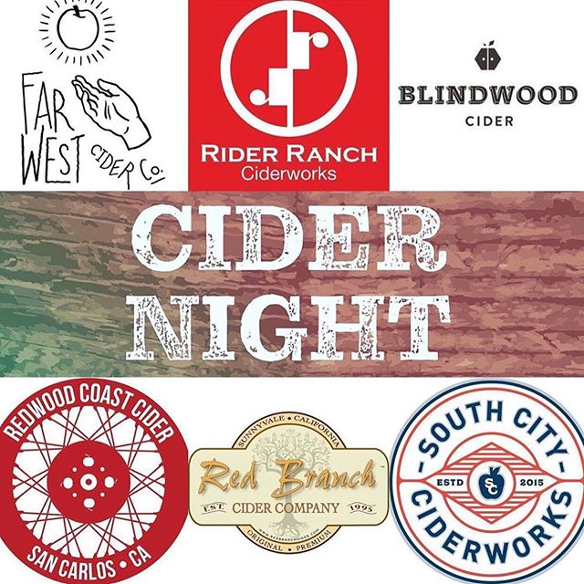 We will be there tonight starting at 6pm @freewheelbrew to discuss the merits of California cider!