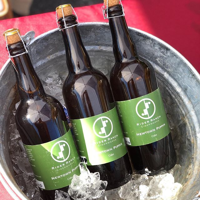 Pick up a bottle of our Newtown Pippin aged ciders today at the Scotts Valley Farmer's Market from 9-1 at the end of Kings Village Road.  Today's offerings: 2017 Hopped Pippin This cider starts with the 75yo pippin that was aged for 12 months. The cider was dry hopped with East Kent Golding, an English ale hop, at the very end of the aging process.  Aroma: lavender, orange peel, neroli, anise 2016 Dry Farm Pippin Crafted in a a farm house style, the dry farmed Newtown Pippin apples where picked late and allowed to develop in cold storage for 3 months. The resulting cider fermented using a wild yeast strain.  Aroma: ripe apple, stone fruit, winter green, floral