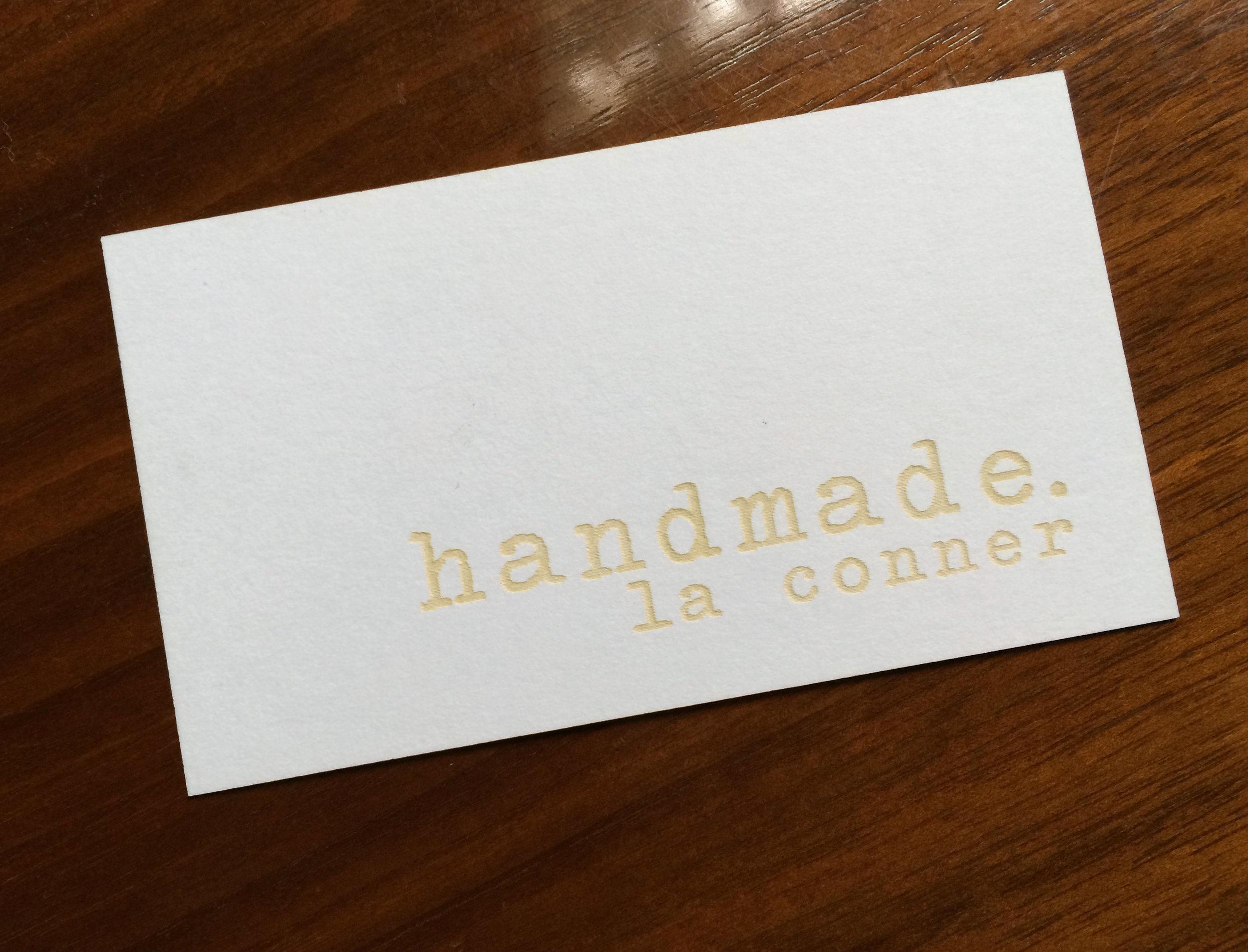 handmade. la conner
