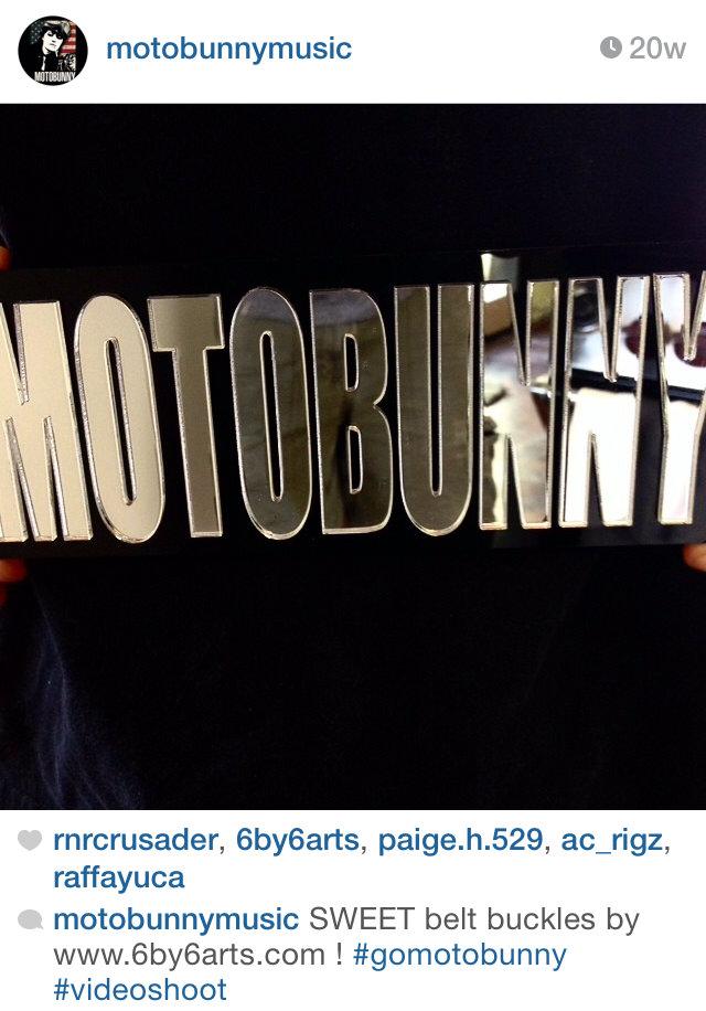 Screen cap from Motobunny's Instagram.